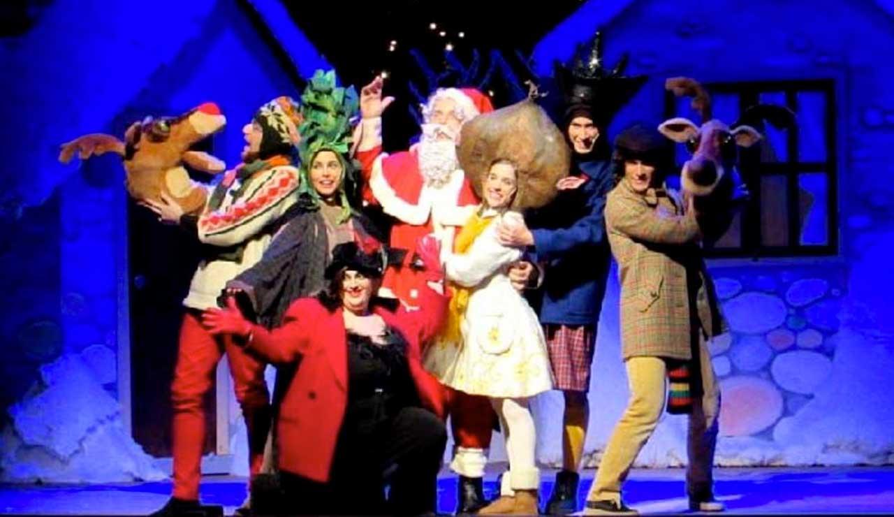 Buon Natale Babbo Natale al teatro Giuditta Pasta di Saronno