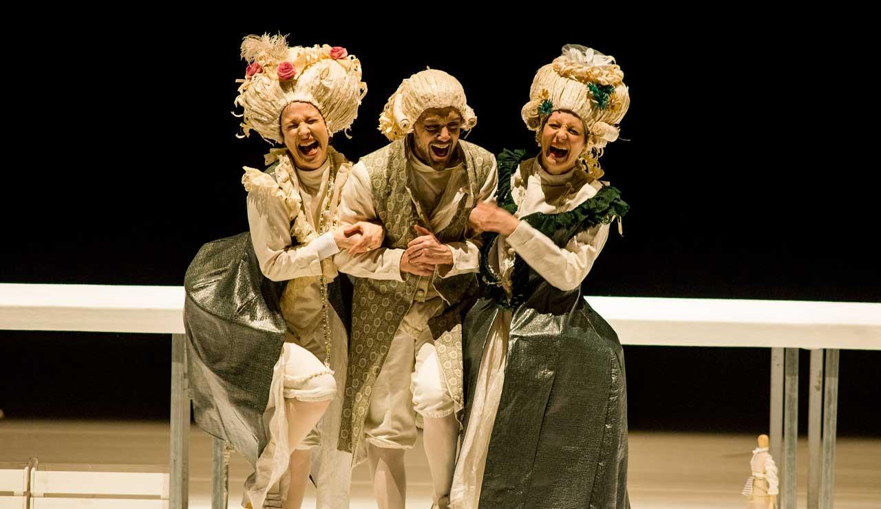LA LOCANDIERA di Carlo Goldoni al teatro Giuditta Pasta di Saronno