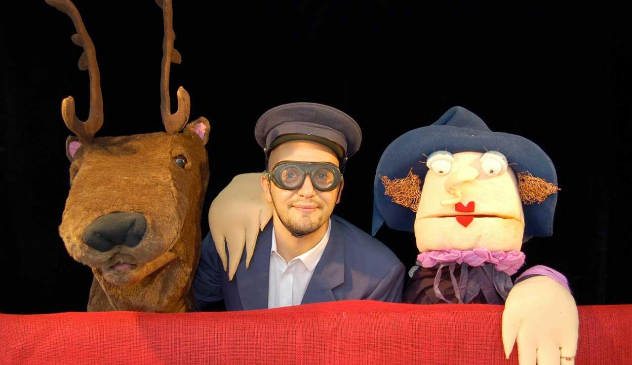 Il Postino di Babbo Natale, con Claudio Milani e Elisabetta Viganò