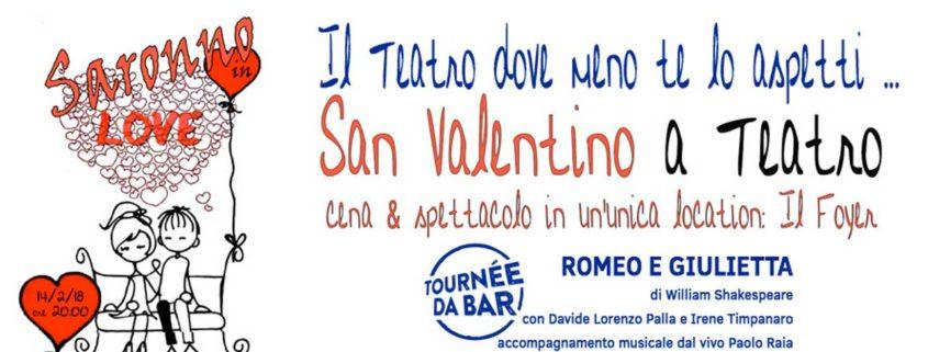 Saronno in love, cena e spettacolo al teatro Giuditta Pasta di Saronno