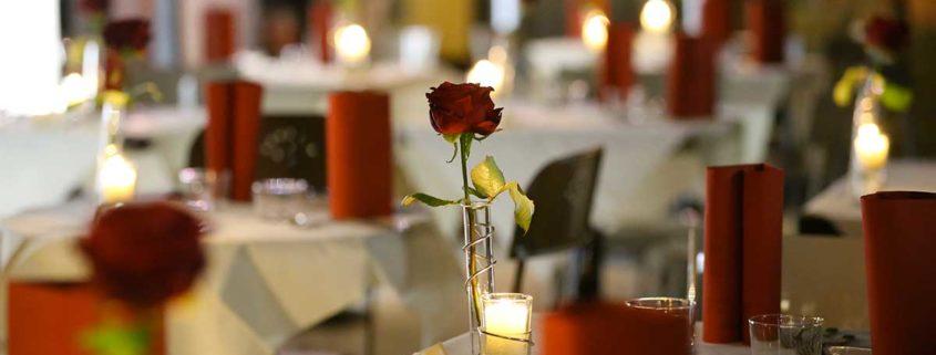 Sold out la cena-spettacolo di San Valentino al teatro di Saronno