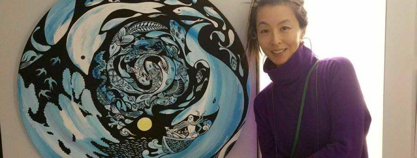 Nel foyer del teatro le opere dell'artista giapponese Izumi Fujiwara